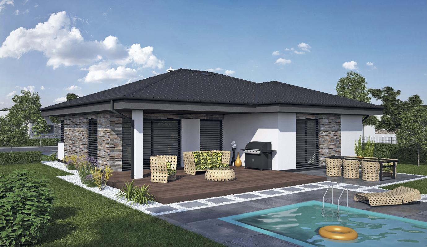 Projekt rodinného domu Laguna 4242