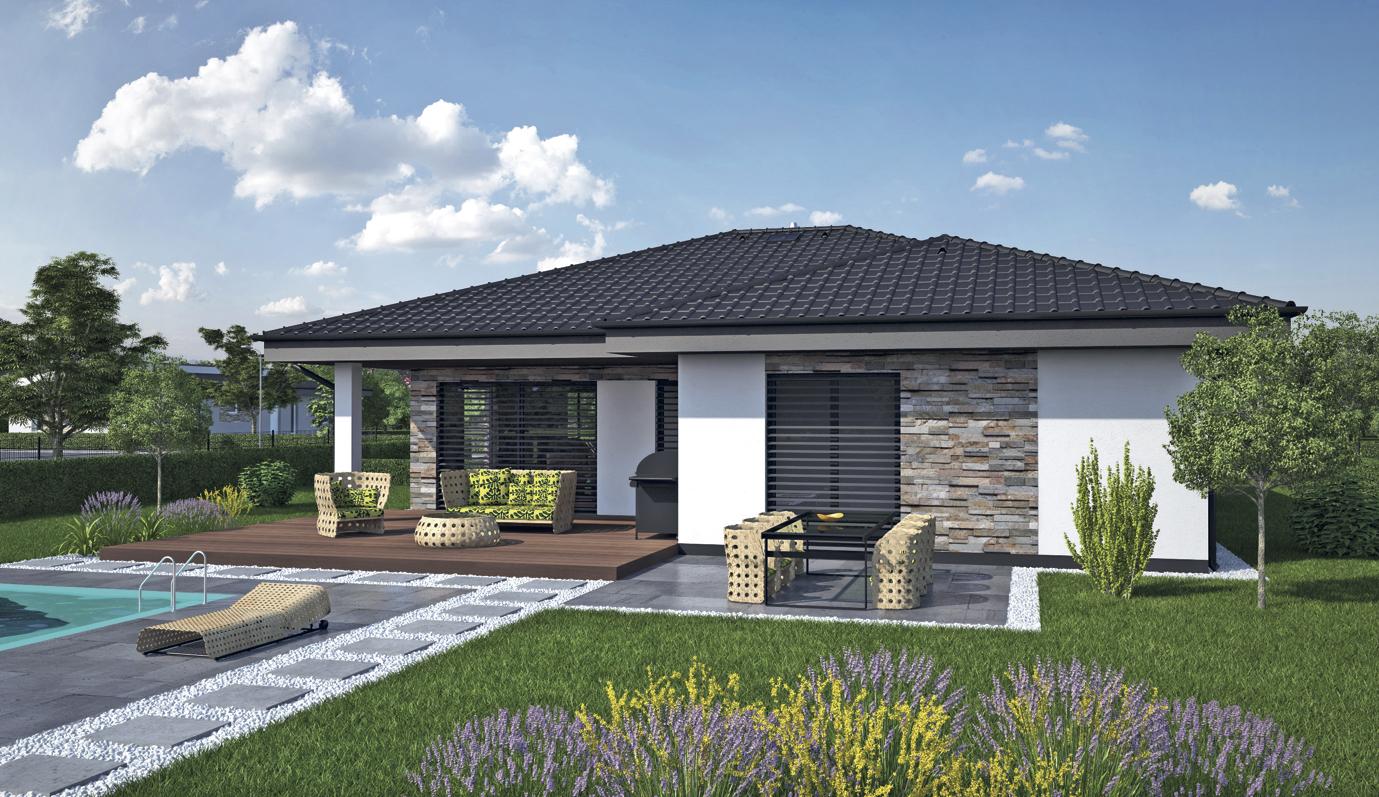 Projekt rodinného domu Laguna 4243