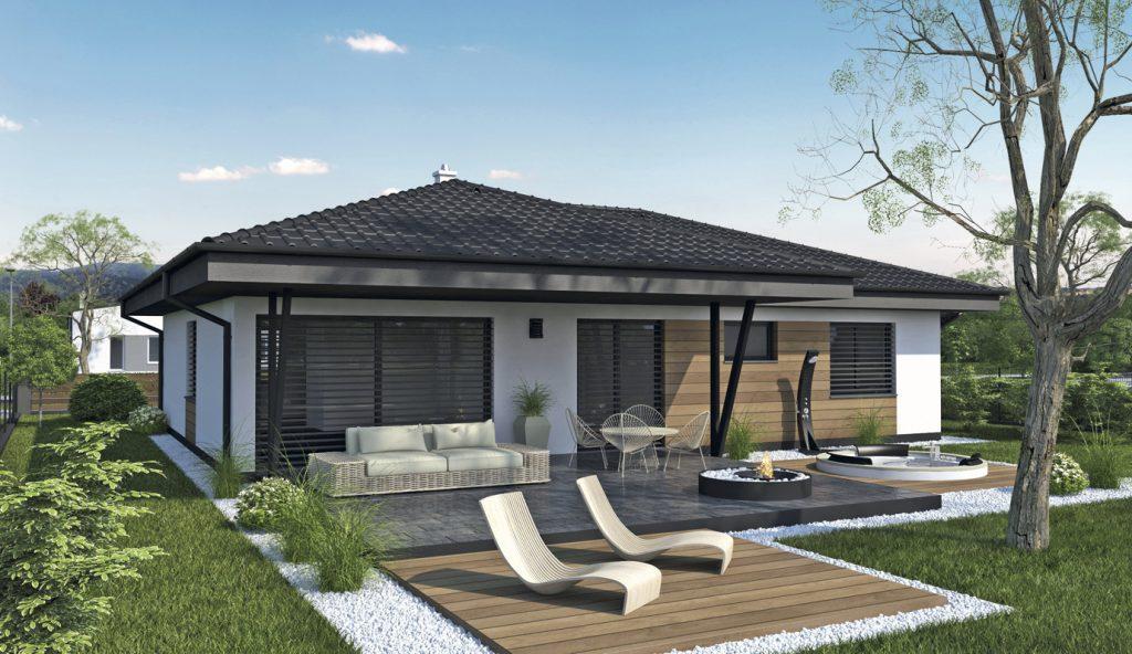 Projekt rodinného domu Laguna 4292