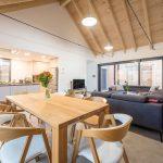 Jedáleň otvorená obývačka