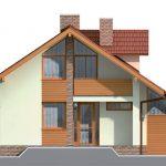 projekt rodinného domu RD – 01