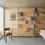 Knižnica v spálni