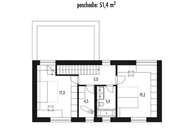 Rodinny dom poschodovy 2