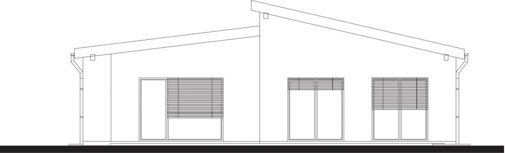 projekt rodinného domu TAK 1