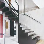 Kovové schodisko