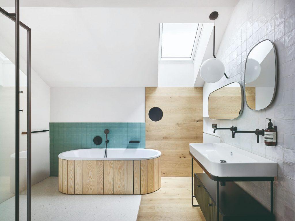 Kúpeľňa v prírodnom štýle