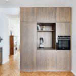Drevená kuchyňská linka