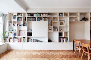 Kreatívna rekonštrukcia bytu s nepraktickou dispozíciou: Nika na spanie namiesto spálne