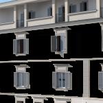 Exteriérové farby na budovu