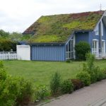 Vegetačná strecha na dome