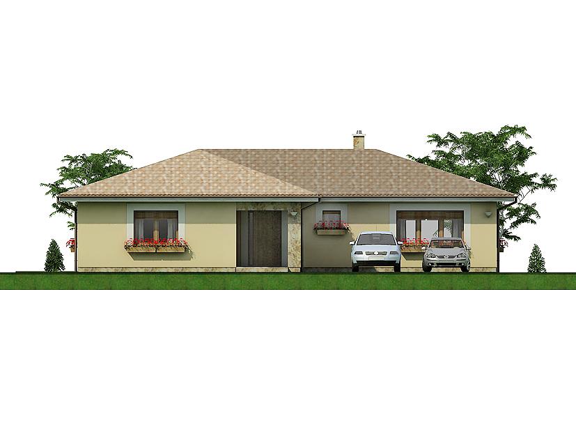 projekt rodinného domu Javijani 129