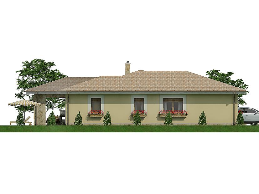 projekt rodinného domu Javijany 129