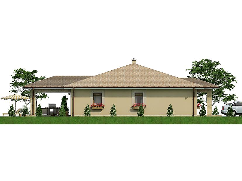 projekt rodinného domu Javijani 127