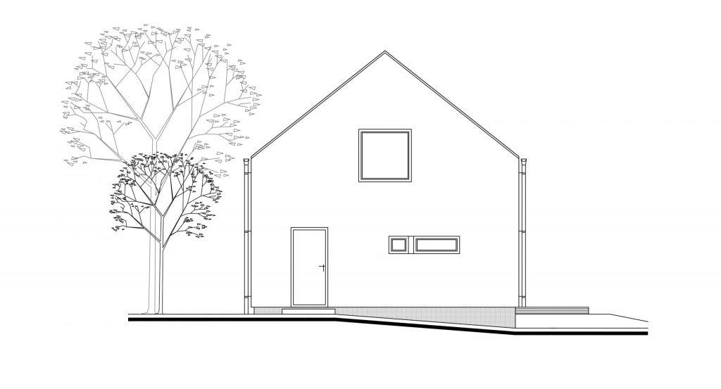 projekt rodinného domu Dom na stráni