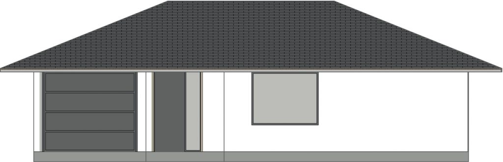 projekt rodinného domu Bungalov Katarina