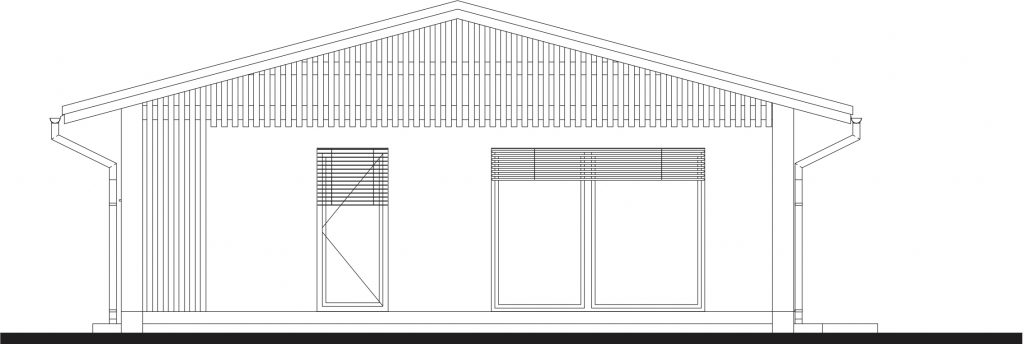 projekt rodinného domu LAN 1