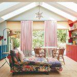 Eklektická obývačka