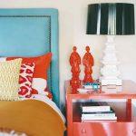 Spálňa farebná sošky