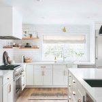 Biela kuchyňa minimalistický štýl