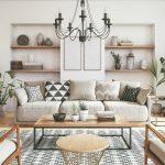 Obývačka s historickými prvkami