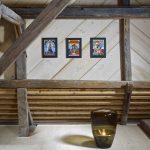interiér rekonštruovanej chalupy