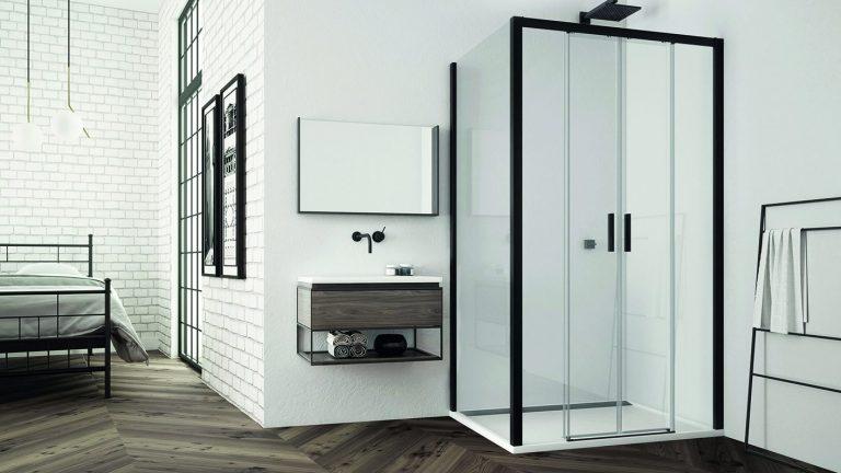 Sprchové a vaňové zásteny SanSwiss v kolekcii WHITE LINE a BLACK LINE – elegancia a originalita