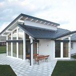 Rodinný dom s atypickou strechou