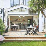 Dom s otvorenou terasou do záhrady
