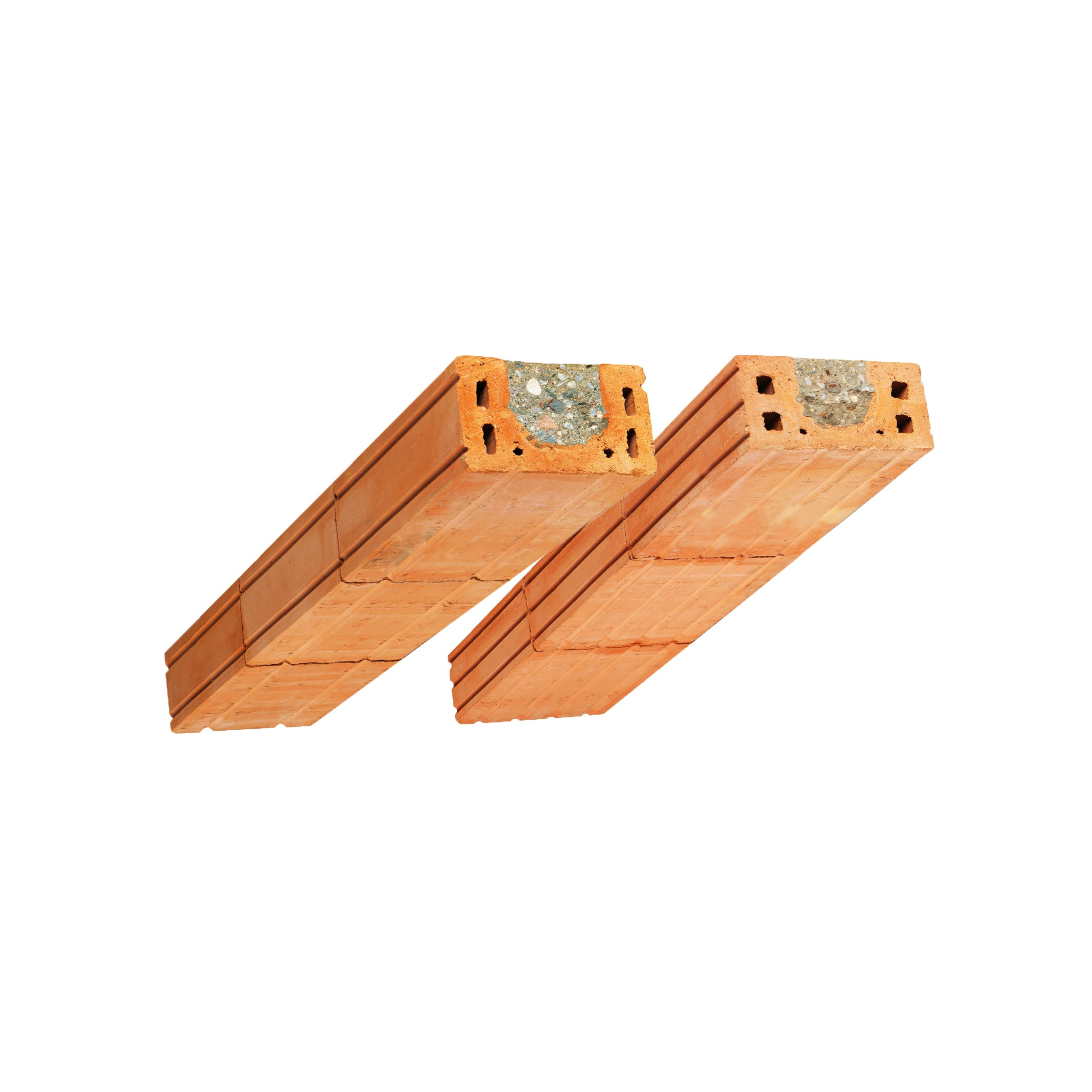 Set of Porotherm KP 11,5 and 14,5 – flat lintels