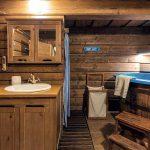 Kúpeľňa v tradičnej chalupe