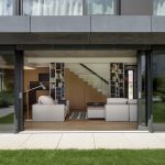 Veľké posuvné dvere do obývačky z terasy