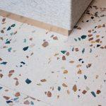 Detail terazzo podlahy