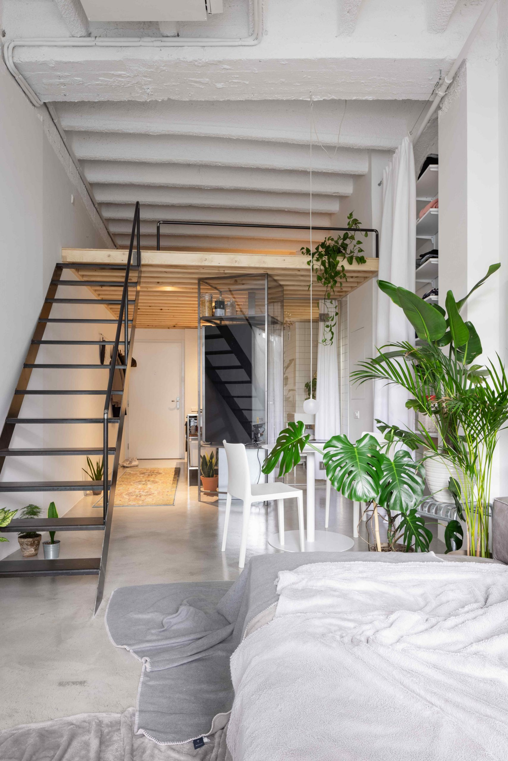 Malý víkendový loft