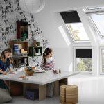 strešné okná detská izba