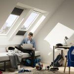 Pracovňa so strešnými oknami