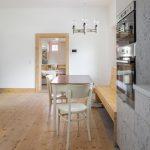 Kuchyňa s jedálňou smrekové drevo