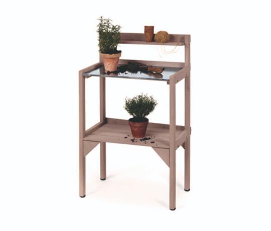Záhradný pracovný stolík
