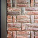Tehlová stena detail