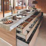 Šuflíky kuchynská linka
