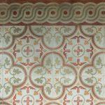Stará mozaika v dome v Portugalsku