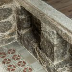 Pôvodný kameň detail