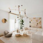Obývačka vintage štýlu