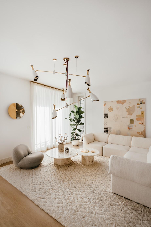 ženský mestský byt s nádychom elegancie