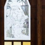 Staré vitrážové okno