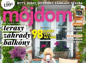 Júnové vydanie časopisu Môj dom s nádychom leta je už v predaji!