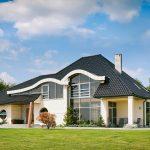 Rodinný dom s krytinou Rubín 9