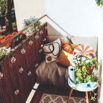 Pohodlný kútik na balkóne