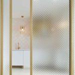Zasúvacia sklenená stena detail