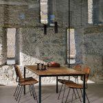 Pôvodné kamenné múry v jedálni