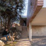 Obdĺžnikový dom na pilieroch